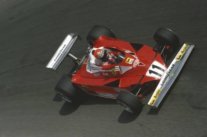 Der Ferrari 312T2 aus dem Jahr 1977 von Niki Lauda