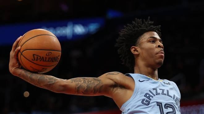 Ja Morant von den Memphis Grizzlies wird zum besten Rookie der Saison gewählt