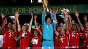 Der FC Bayern sicherte sich zum 13. Mal in der Vereinsgeschichte das Double