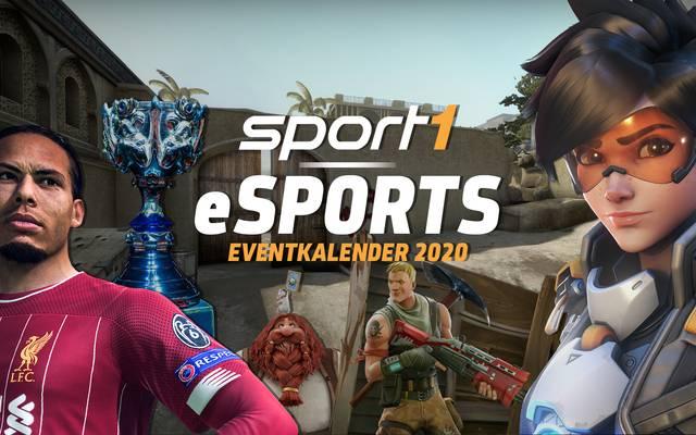 SPORT1 eSports präsentiert die größten und wichtigsten eSports-Events des Jahres von CS:GO, League of Legends, Dota 2, Hearthstone, FIFA, Overwatch und Co.