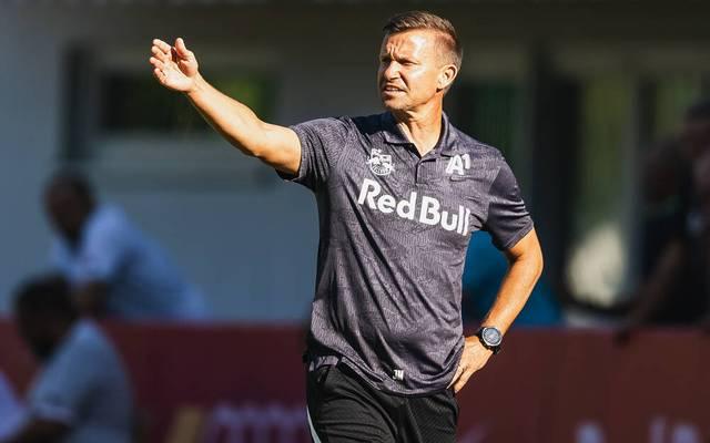 Jesse Marsch ist Trainer von RB Salzburg
