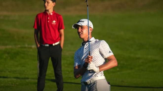 Tiger Christensen spielte eine schwache 3. Runde