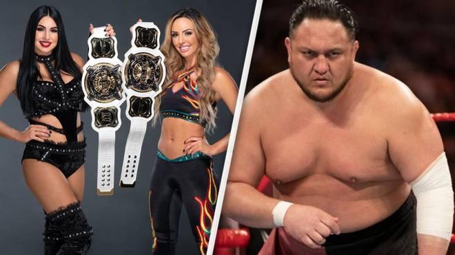 Die früheren IIconics mussten WWE ebenso verlassen wie Samoa Joe
