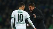 Borussia Mönchengladbach: Dieter Hecking und Thorgan Hazard
