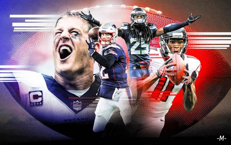 Mit Silvester 2019 laufen die 10er-Jahre des aktuellen Jahrtausends ab. Wer sind die größten Stars des vergangenen Jahrzehnts in der NFL? SPORT1 stellt das Team der 10er Jahre auf