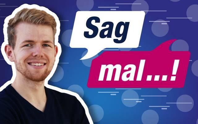 """Der neue SPORT1-Podcast """"Sag mal"""" mit Daniel Höhr"""