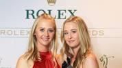 Nelly Korda (l.) und Jessica Korda sind die Töchter des Ex-Tennis-Profis Petr Korda