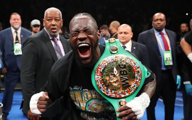 Deontay Wilder ist Schwergewichts-Weltmeister des WBC