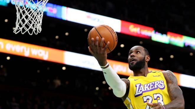 LeBron James überholt Kobe Bryant