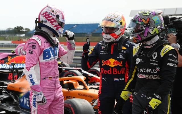 Nico Hülkenberg (l.) beeindruckt sogar seine Kontrahenten in der Formel 1