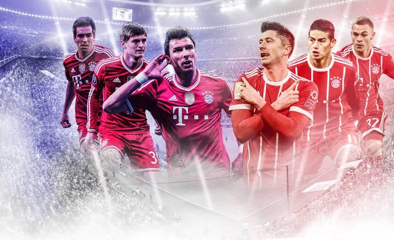 Der Meistertitel ist so gut wie fix, der Pokalsieg zum Greifen nah - jetzt will der FC Bayern München in der Champions League Alles. SPORT1 vergleicht den aktuellen Kader mit dem aus der Triple-Saison 2013! Welcher ist besser?
