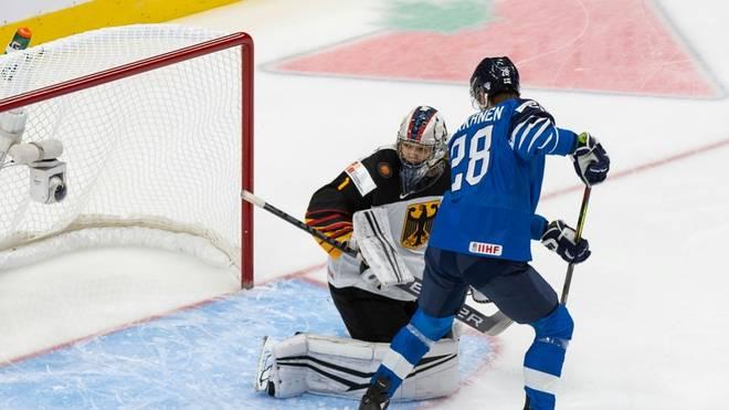 Niederlage gegen Finnland zum WM-Auftakt