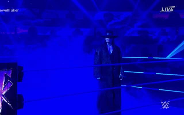 Bei der WWE Survivor Series 2020 versammelten sich die größten Namen des Wrestlings um den Undertaker zu verabschieden
