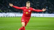 Timo Werner bejubelt sein Tor gegen Hertha BSC