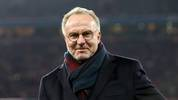 MUNICH, GERMANY - NOVEMBER 09: Karl-Heinz Rummenigge, CEO of FC Bayern Muenchen looks on prior to the Bundesliga match between FC Bayern Muenchen and Borussia Dortmund at Allianz Arena on November 09, 2019 in Munich, Germany. (Photo by Alexander Hassenstein/Bongarts/Getty Images)