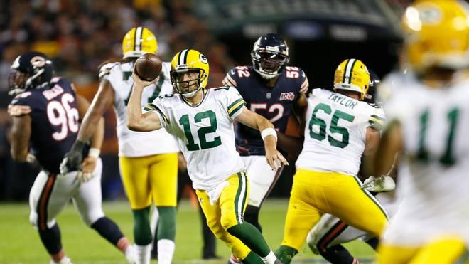 Aaron Rodgers feierte mit den Green Bay Packers den ersten Saisonsieg