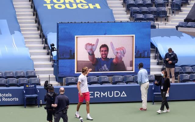Alexander Zverev kann bei den US Open auf die Unterstützung seines Bruders bauen