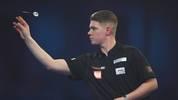 Nico Kurz will als Erster Deutscher bei der Darts-WM das Achtelfinale erreichen