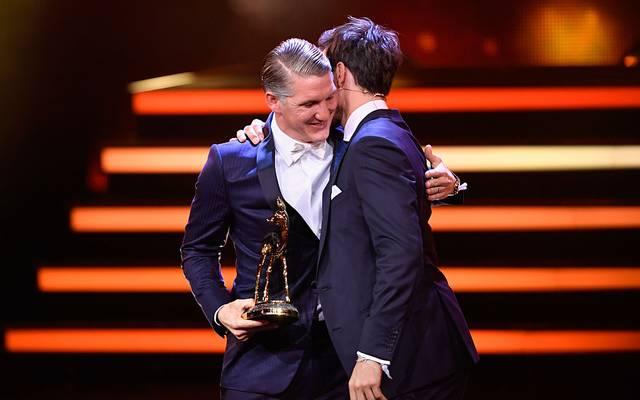 Bastian Schweinsteiger und Felix Neureuther bei der Bambi-Verleihung 2016