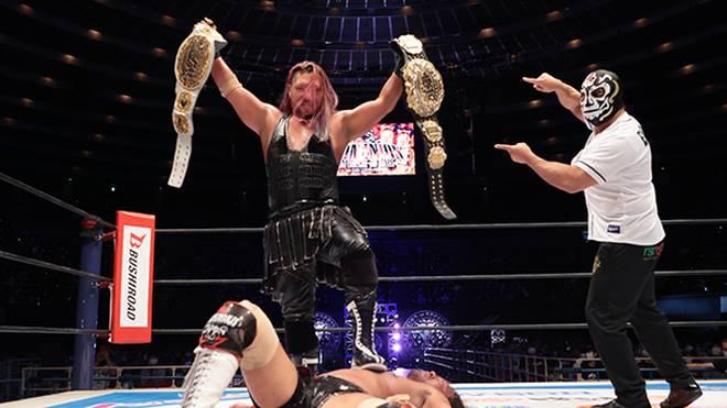 NJPW hat am Wochenende EVIL zum neuen Doppel-Champion gekrönt
