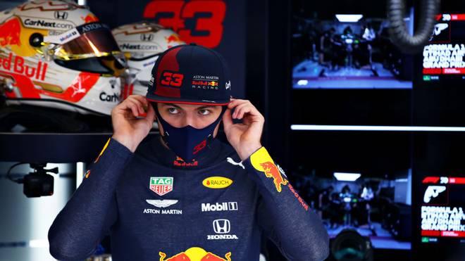 Max Verstappen hat im Qualifying seine Hand im Cockpit eingeklemmt