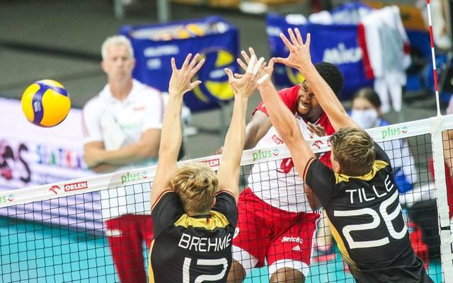 Deutschland leistete Weltmeister Polen harten Widerstand