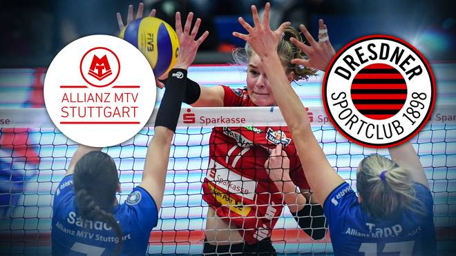 Volleyball Bundesliga, Allianz MTV Stuttgart - Dresdner SC