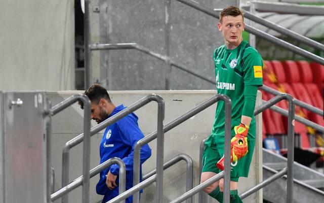 Markus Schubert musste gegen Bremen wieder auf die Bank