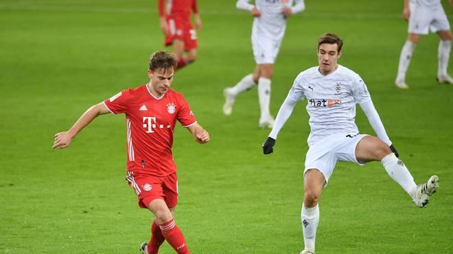 Das Rückspiel zwischen dem FC Bayern und Borussia Mönchengladbach findet am 32. Spieltag statt