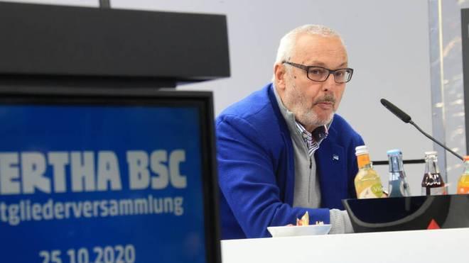 Werner Gegenbauer erreicht die notwendige Mehrheit