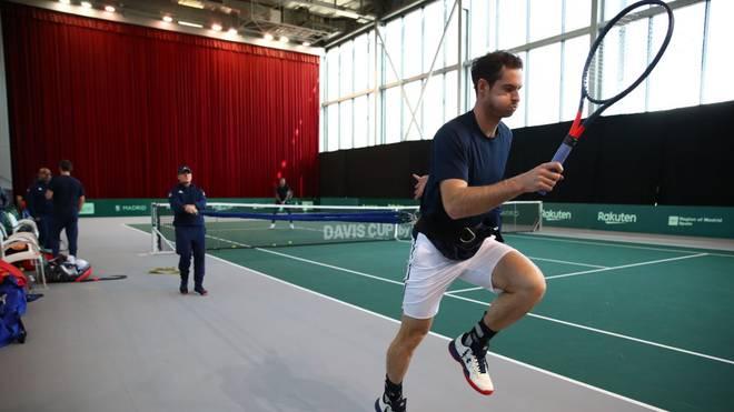 Andy Murray stand zuletzt beim Davis Cup auf dem Court