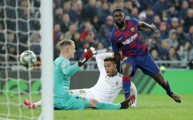 Samuel Umtiti ist Innenverteidiger des FC Barcelona