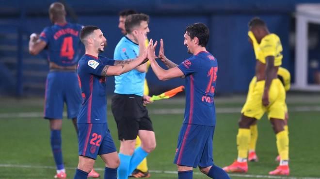Atlético feierte einen Pflichtsieg