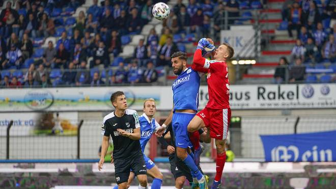 Der SC Verl ist neuer Spitzenreiter in der 3. Liga