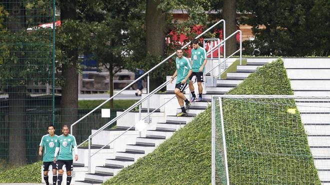 Das Treppenlaufen dürfte beim VfL Wolfsburg bald endgültig der Vergangenheit angehören