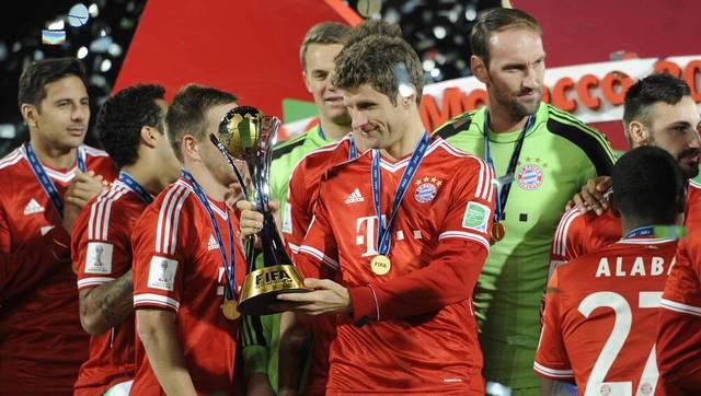 Auch Thomas Müller war bei Bayerns Triumph bei der Klub-WM 2013 schon dabei