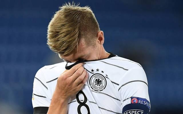 Toni Kroos war unzufrieden nach dem Spiel