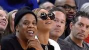Jay-Z und Beyonce bei den Golden State Warriors gegen Oklahoma City Thunder