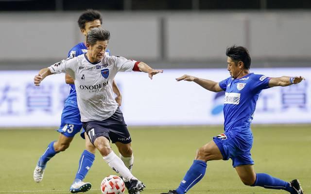 Kazuyoshi Miura begann seine Karriere 1986 beim FC Santos