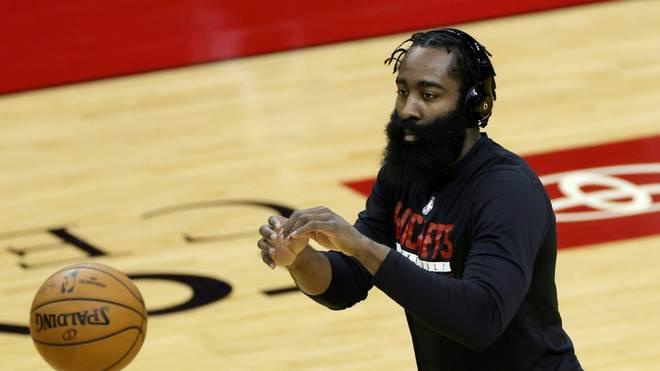 James Harden verliert mit dem Houston Rockets gegen die Portland Trail Blazers