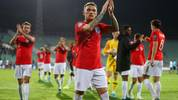 SOFIA, BULGARIA - OCTOBER 14: Kieran Trippier of England applauds after the UEFA Euro 2020 qualifier between Bulgaria and England on October 14, 2019 in Sofia, Bulgaria. (Photo by Catherine Ivill/Getty Images)