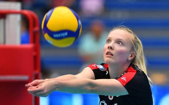 Jennifer Janiska ist seit 2013 Volleyball-Nationalspielerin