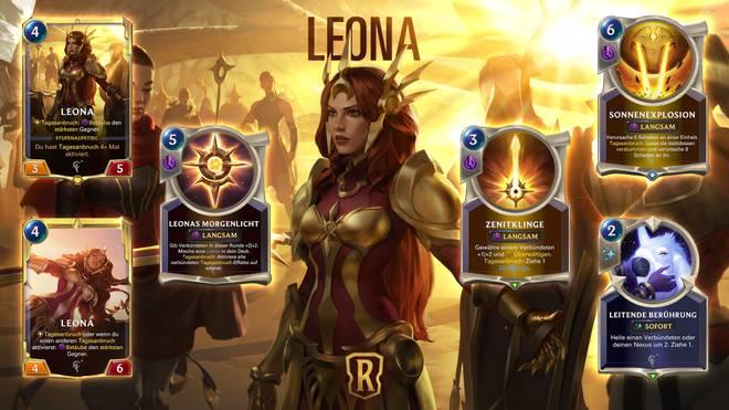 Leona wird der neuen Region Targon angehören