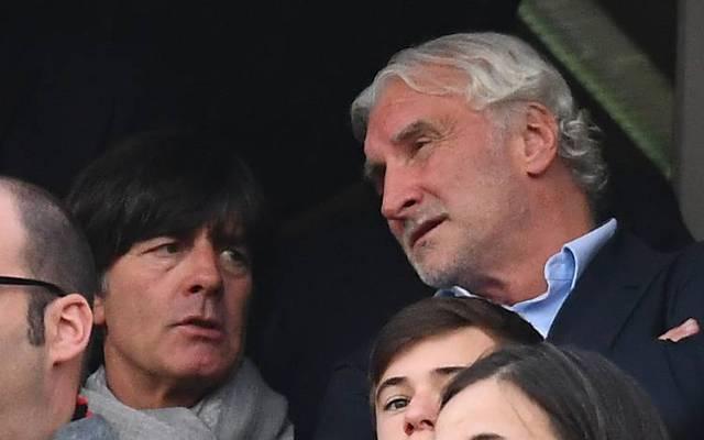 """Rudi Völler (r.) empfindet den Löw-Rücktritt als """"Akt der Befreiung"""""""