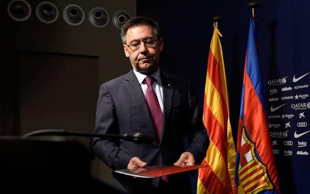 Josep Bartomeu ist beim FC Barcelona zunehmend umstritten