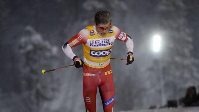 Johannes Hösflot Kläbo war in Kuusamo nicht zu bremsen