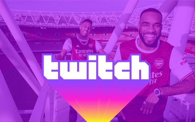Twitch Sports featured unter anderem auch Arsenal London
