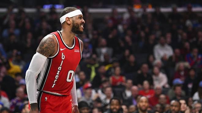 Carmelo Anthony zieht in die Top 10 der NBA-Scorer ein