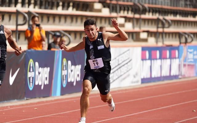 Deniz Almas bestätigt seinen DM-Titel über 100 Meter