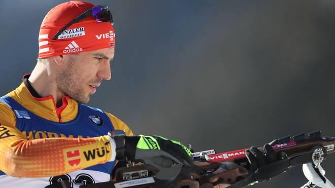 Arnd Peiffer führt das deutsche Team im Einzel an